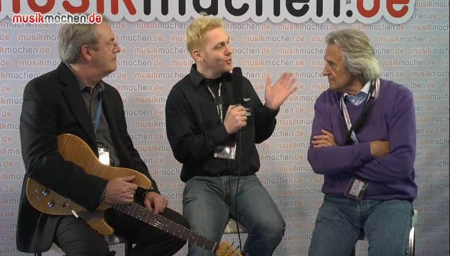 Interview mit John McLaughlin & Robert Godin