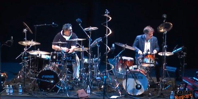 Ranjit Barot & Gary Husband – Drums solo