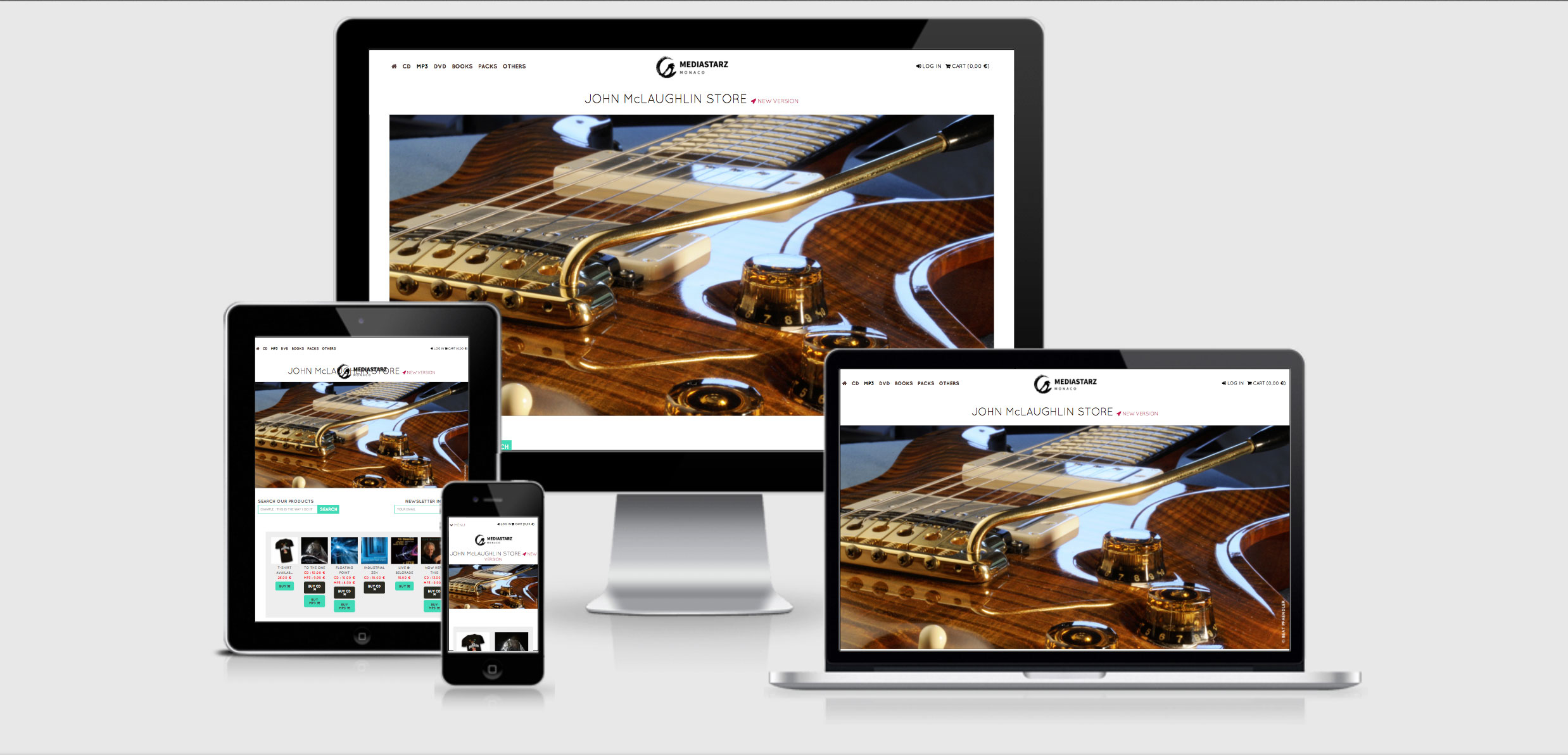 New official Webshop Mediastarz