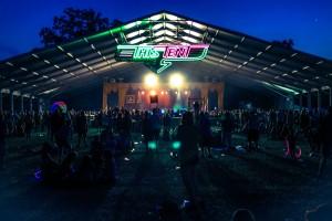 Bonnaroo at night - July 15th.
