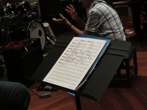 """New Blues"" - Rehearsals at Manifold studio."