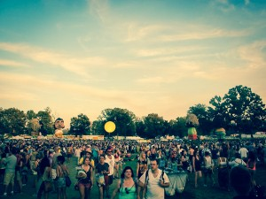 A wild mix of party animals and music fanatics. Bonnaroo festival...
