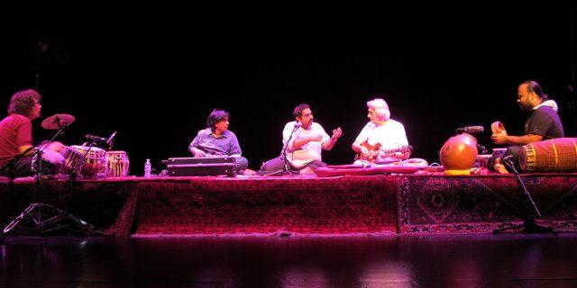 Shakti tour rehearsal day 2