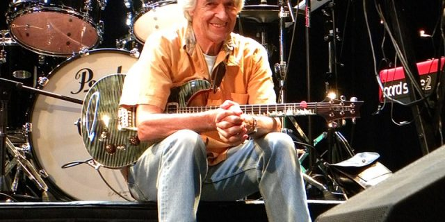 British guitarist John McLaughlin in conversation