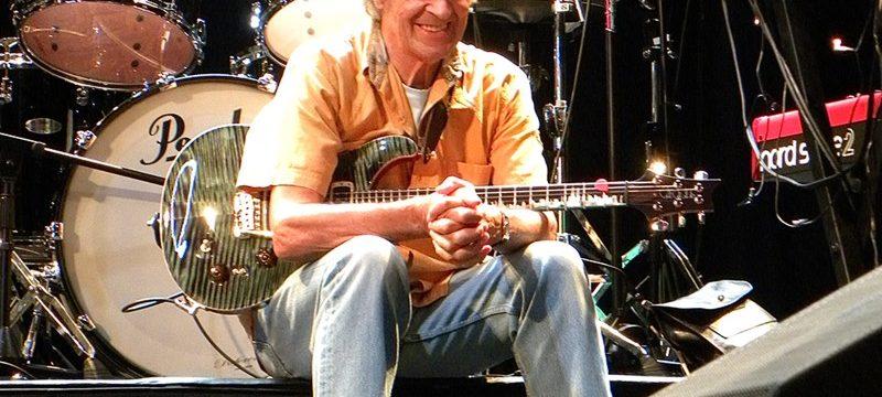 British guitarist John McLaughlin in conversation