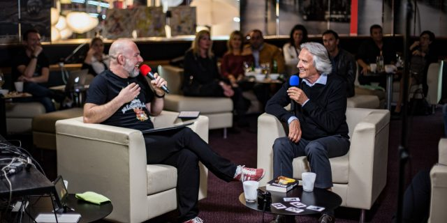 Interview of John McLaughlin by John Bouchet from Noobs Live with subtitles